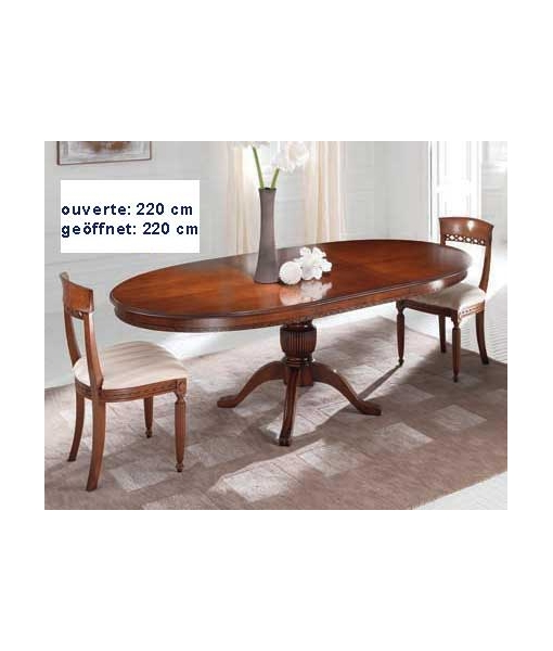 Ovaler Tisch, Tisch ausziehbar, Art. ER-228