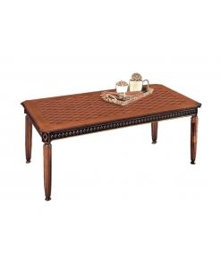 Tisch schwarz, Tisch zweifarbig