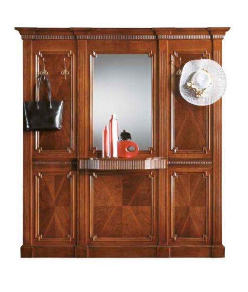 Garderobe mit spiegel breite 2 m frank m bel for Garderobe breite