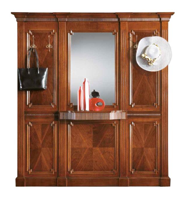 Garderobe mit spiegel breite 2 m frank m bel for Breite garderobe
