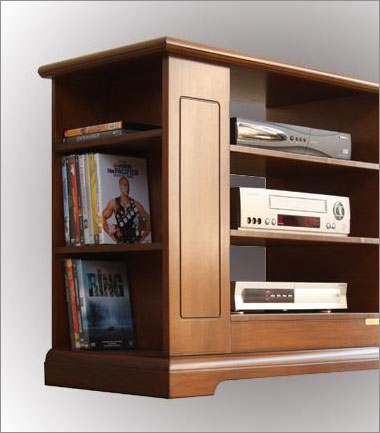 tv m bel t r mit glas frank m bel. Black Bedroom Furniture Sets. Home Design Ideas