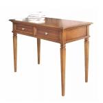 Schreibtisch mit Intarsie