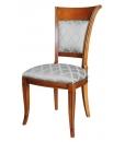 Gepolsterter Stuhl, Stuhl, klassischer Stuhl
