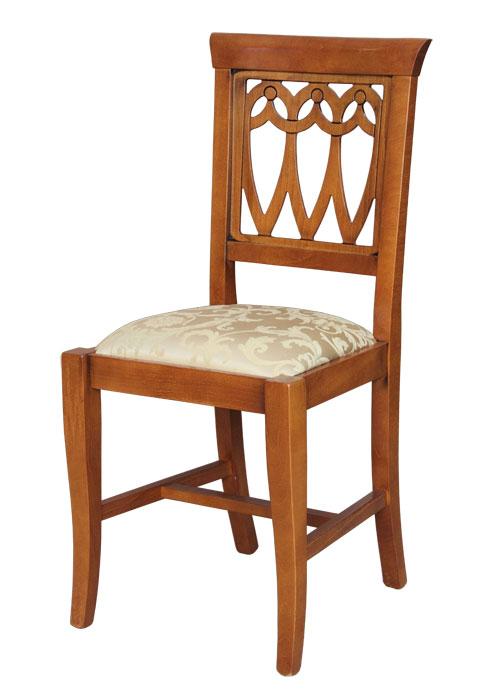 klassischer stuhl mit sch ner r cklehne frank m bel. Black Bedroom Furniture Sets. Home Design Ideas