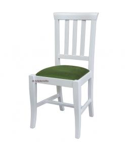 Klassischer Stuhl, Stuhl weiß