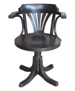 Drehstuhl wengé, Stuhl drehbar schwarz