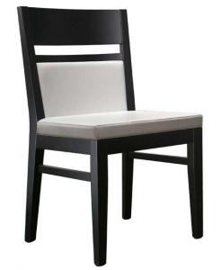 Stuhl weiß und schwarz, Stuhl Design