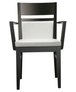 Armlehnstuhl weiß und schwarz, Armlehnstuhl Design