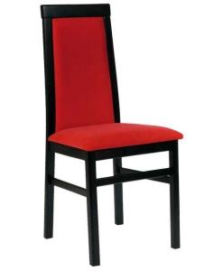 Design Stuhl Schwarz und Rot , Design Stuhl