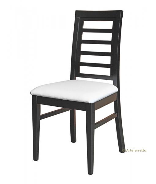 Stuhl Design Julie aus Buchenholz, Art.-Nr.: FR181