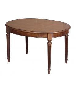 Ovaler Tisch sehr elegant 130-210 cm