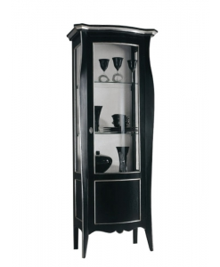 Schwarze Vitrine, Vitrine Made in italy