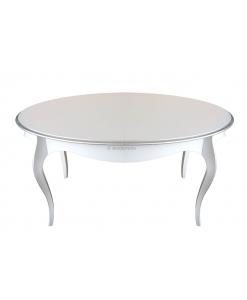 Ovaler Tisch weiß, Tisch weiß