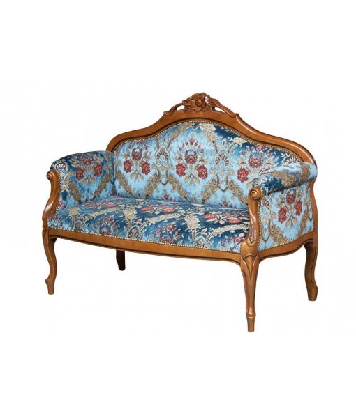 Sofa 2 Sitze Fleur Klassischer Stil