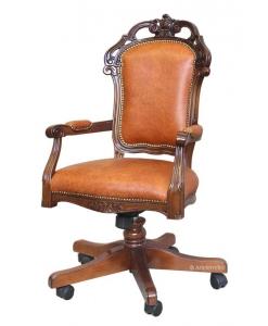 Sessel für Büro mit Rollen drehbar