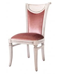 Klassischer Sessel mit Velours, Klassischer Sessel