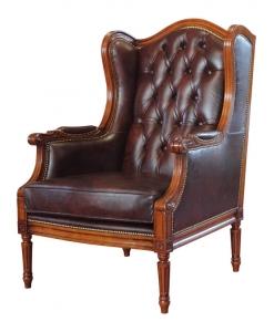 Ledersessel, Sessel aus Leder