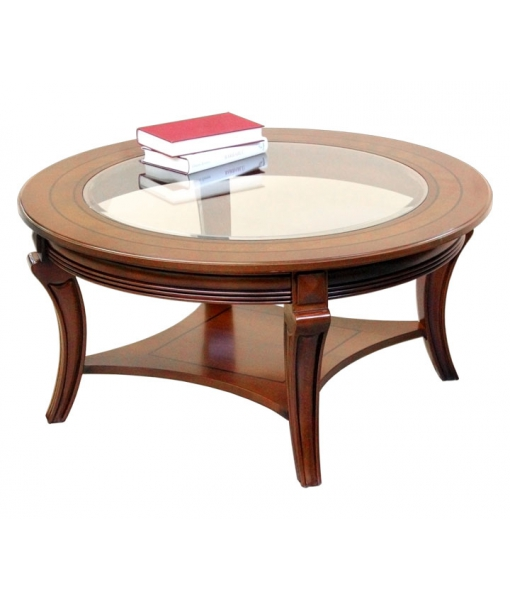 runder couchtisch mit glasplatte angebot frank m bel. Black Bedroom Furniture Sets. Home Design Ideas