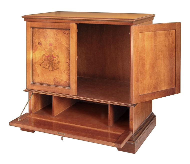 m bel mit intarsie close tv frank m bel. Black Bedroom Furniture Sets. Home Design Ideas