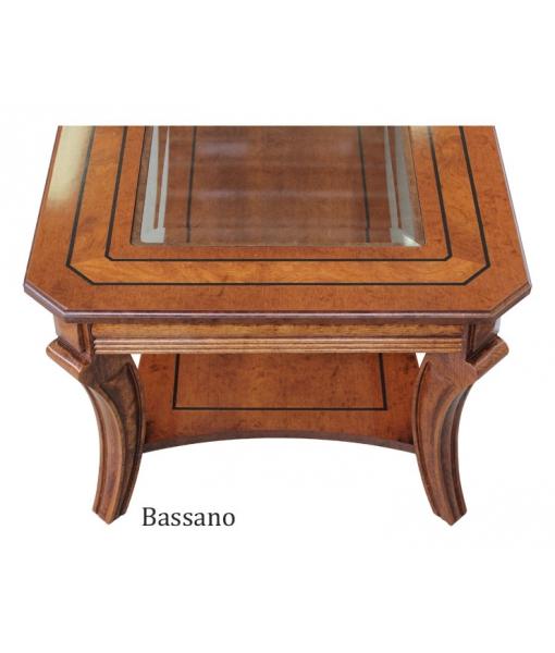 schöne Details der Tischplatte