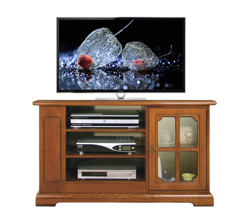 m bel tv 1 t r mit glas frank m bel. Black Bedroom Furniture Sets. Home Design Ideas