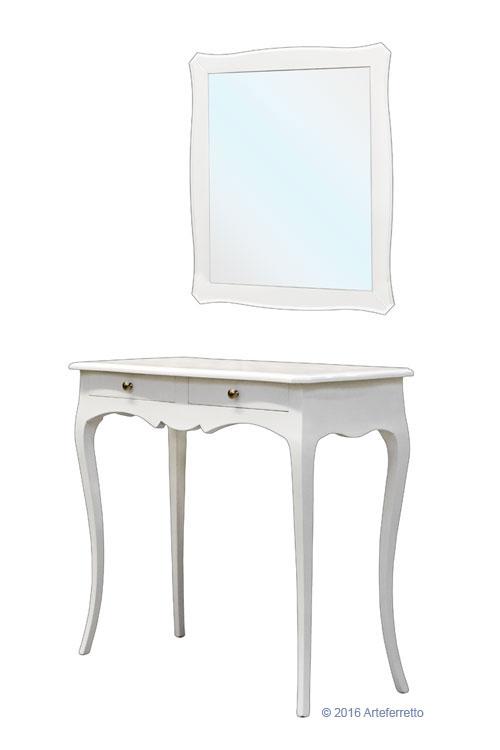 konsolentisch mit spiegel klassisch ebay. Black Bedroom Furniture Sets. Home Design Ideas