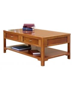 tavolino da salotto 2 cassetti