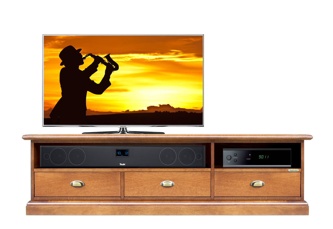 tv lowboard soundbar 150 cm frank m bel. Black Bedroom Furniture Sets. Home Design Ideas