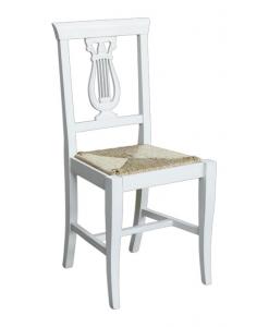 Stuhl mit Strohsitz, Stuhl