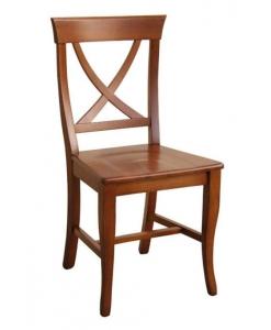 Stuhl mit Holzsitz, Holzstuhl, Stuhl jeden Tag, Stuhl stark