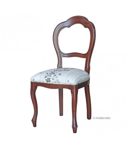 Stuhl mit Polstersitz Arco Klassisch, Art.-Nr.: VIS-400