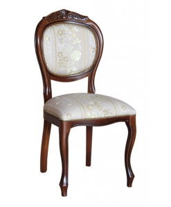 Stuhl mit Schnitzarbeit, Klassischer Stuhl