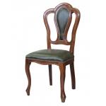 Lederstuhl Klassischer Stil, Lederstuhl