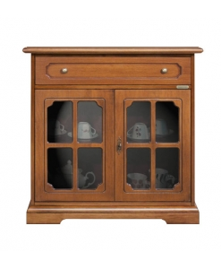 kleine sammlervitrine mit glast r frank m bel. Black Bedroom Furniture Sets. Home Design Ideas