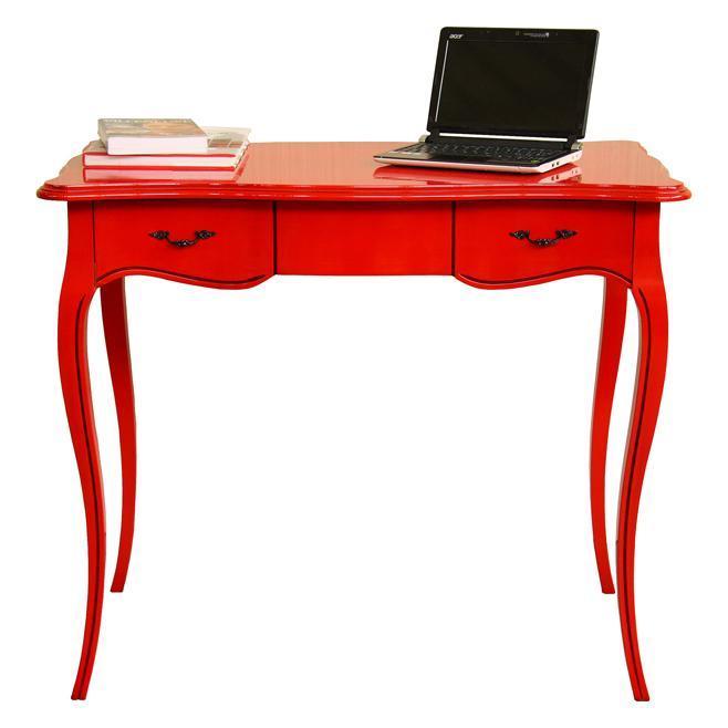 schreibtisch rot cavallino aus maranello frank m bel. Black Bedroom Furniture Sets. Home Design Ideas