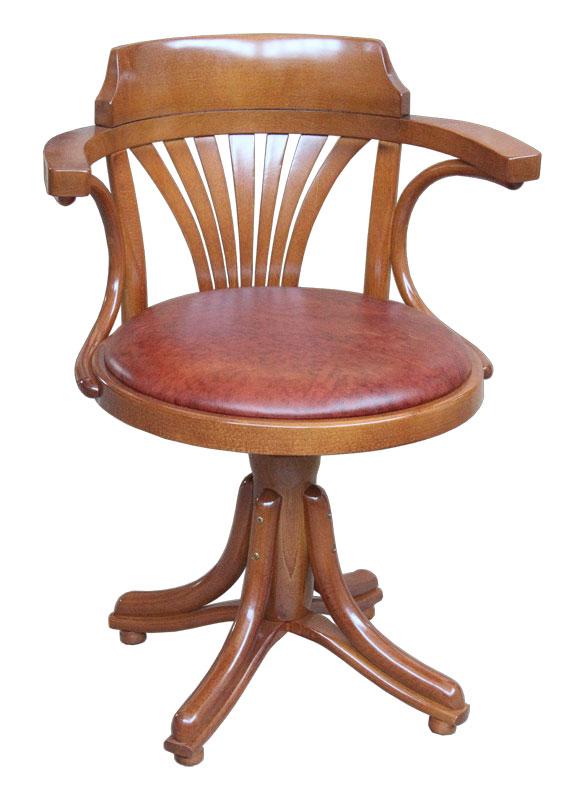 drehstuhl mit polstersitz ohne rollen schon montiert neu aus italien. Black Bedroom Furniture Sets. Home Design Ideas
