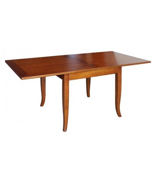 Tisch geöffnet wie ein Buch