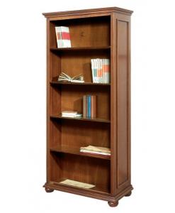 Bücherregal mit Einlegeböden, Regalböden klassisch