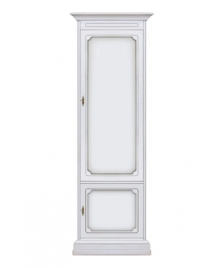 Schrank 1 Tür, Schrank 1 weiß