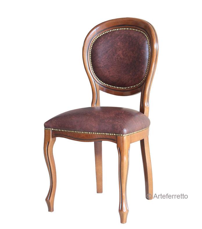 stuhl aus leder louis philippe ebay. Black Bedroom Furniture Sets. Home Design Ideas
