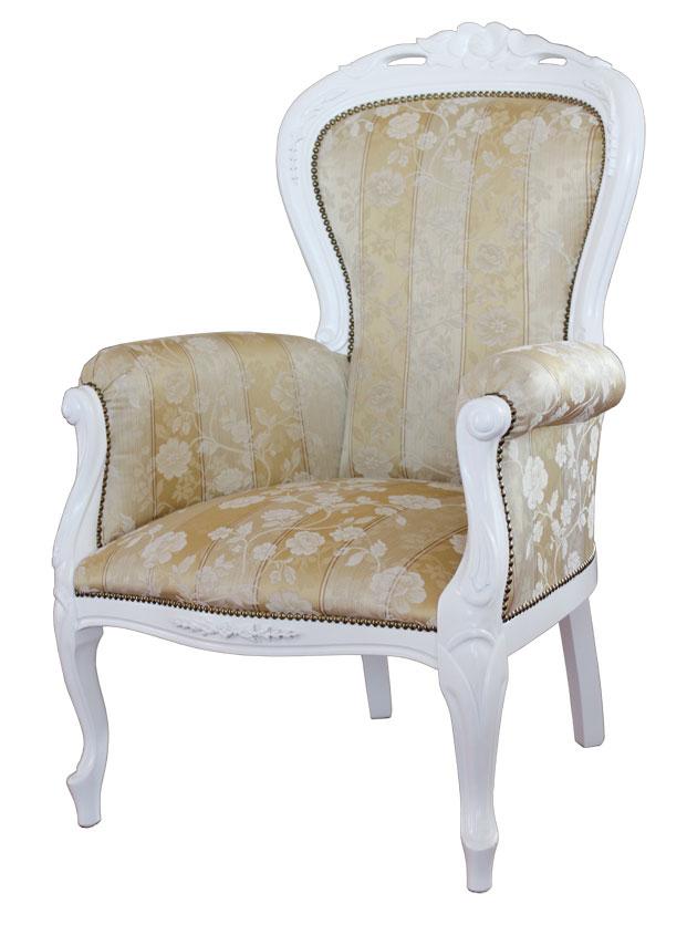 sessel wei middleton rose ebay. Black Bedroom Furniture Sets. Home Design Ideas