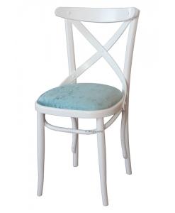 Stuhl weiß, Stuhl Polstersitz