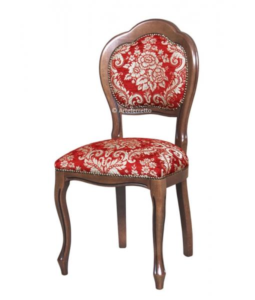 Klassischer Stuhl, Polsterstuhl, Art.-Nr. VIS-401