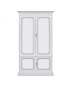 Schrank 2 Türen, Schrank weiß