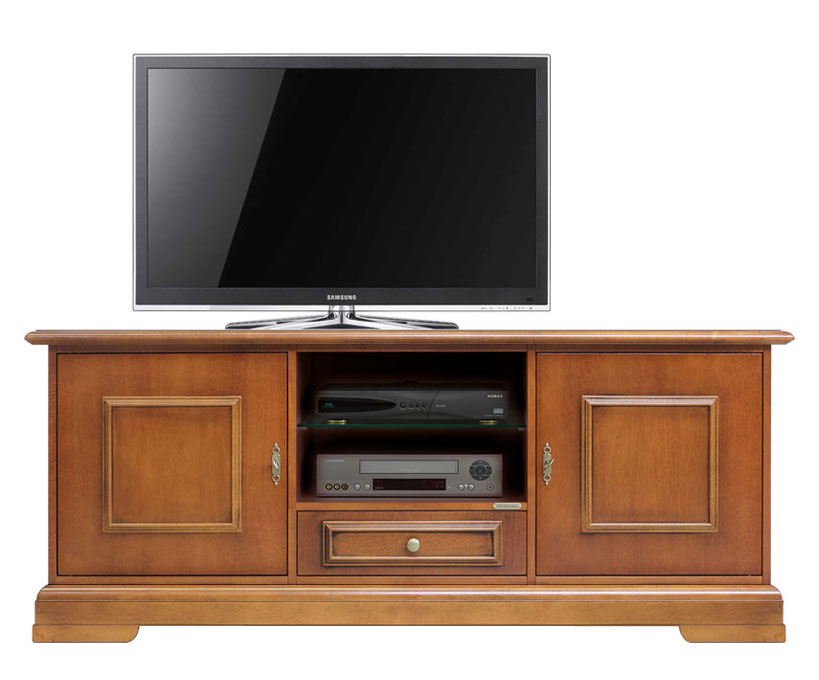 tv schrank mit sockelleiste 2 t ren frank m bel. Black Bedroom Furniture Sets. Home Design Ideas