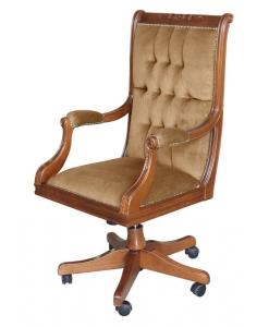 Drehsessel, Sessel mit Rollen