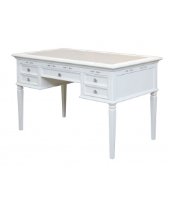 Schreibtisch, Schreibtisch weiß