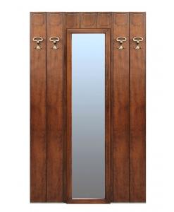 Garderobe mit Spiegel, Garderobe