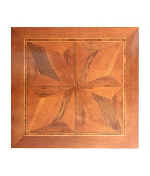 Tischplatte mit Intarsie