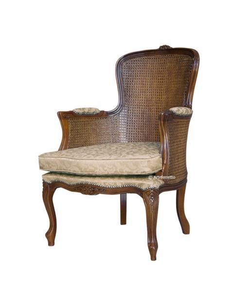 Sessel mit Sitzkissen, Sessel, Art.-Nr. GM-416-PV